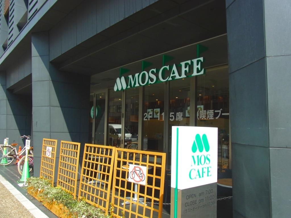 モスカフェ烏丸六角店外観