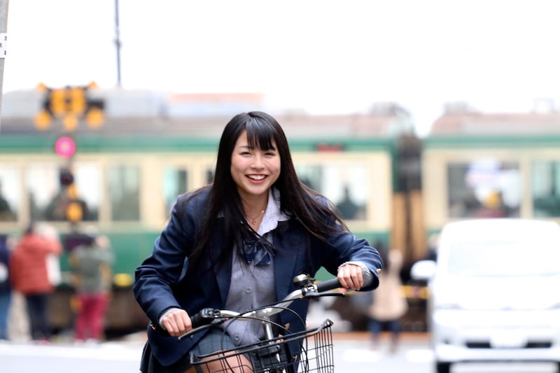 riding-bicycle-student-woman-morning-go-to-test