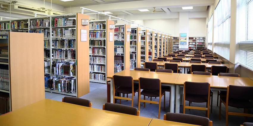 京都女子中学高校図書館